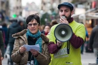 association Filactions sensibilisation dans la rue