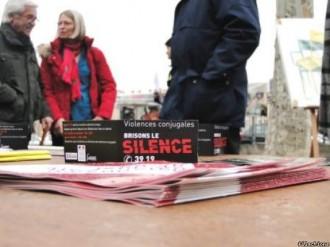 sensibilisation contre les violences conjugales